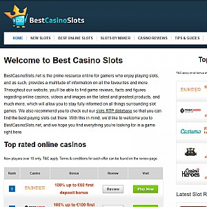 BestCasinoSlots.net - Find the best online slots