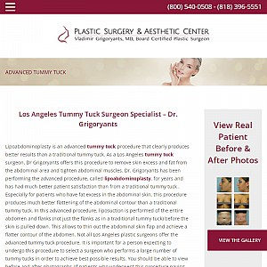 Tummy tuck Los Angeles