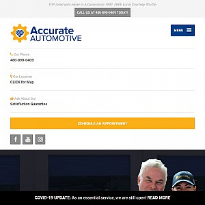 Auto Repair Mesa, Accurate Automotive