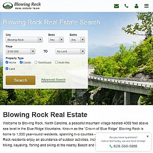 Search Blowing Rock, NC Homes for Sale