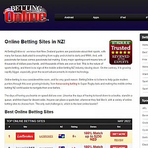 Find Betting Sites in NZ for Punting Online on Sports
