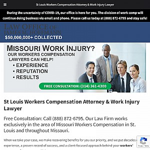 St. Louis Work Injury Lawyer - Law Office of James M. Hoffmann
