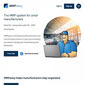 MRP software for small manufacturers - MRPEasy