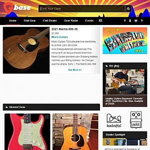 Gbase Vintage Guitar Collective