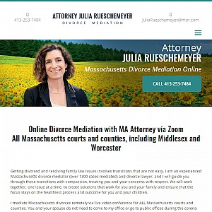 Attorney Julia Rueschemeyer Divorce Mediation Massachusetts