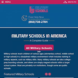 USA Military Schools (Directory and History)