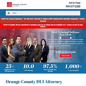 Orange County DUI Attorney