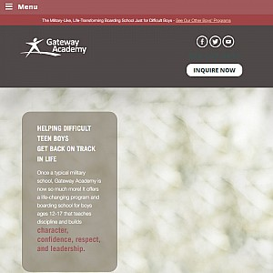 Christian Military School - Gateway Helps Boys