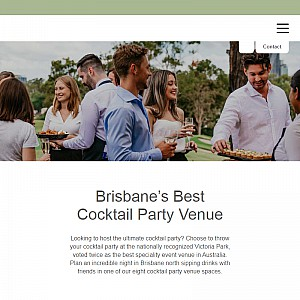 Victoria Park Cocktail Party Venue