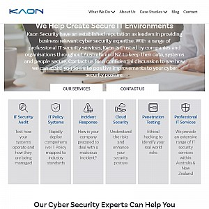 Auckland Cyber Security & Data Protection - Kaon