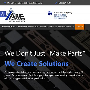 Advanced Metal Etching, Inc.