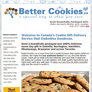 Gourmet Cookie Gift Delivery in Canada that Embodies Goodness