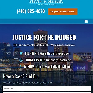 Steven H. Heisler - The Injury Lawyer