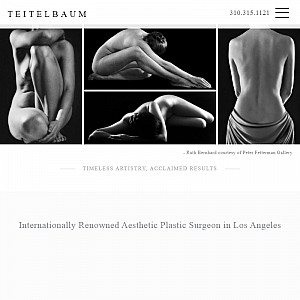 Los Angeles Cosmetic Surgeon, Dr. Teitelbaum