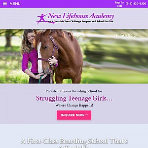 New Lifehouse - Boarding School for Troubled Girls
