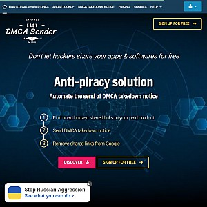 DMCA Takedown Notice sender