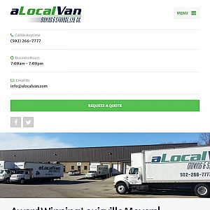 A Local Van Moving & Storage Company