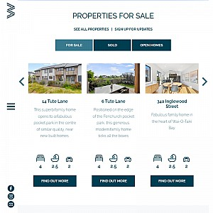 Wai O Taiki Bay Houses for Sale - New Auckland Development
