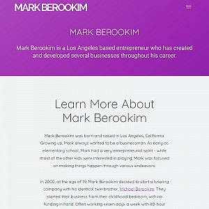 Mark Berookim - Los Angeles Entrepreneur