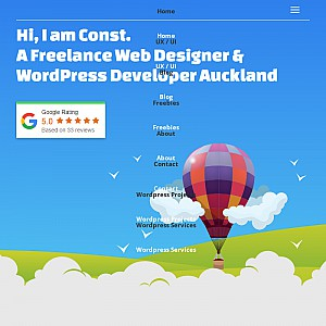 Freelance Web Designer and SEO consultant