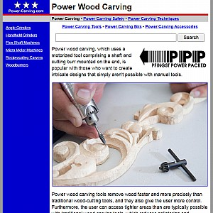 Power Carving Techniques and Tools