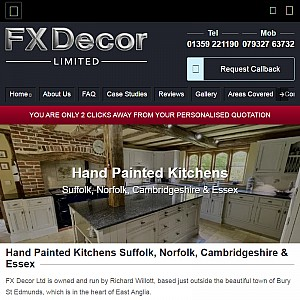 Hand Painted Kitchens Suffolk
