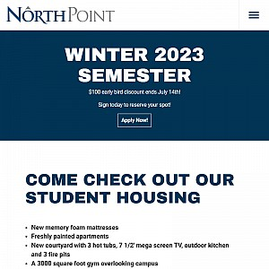 BYU-I Housing | NorthPoint Apartments