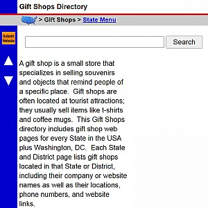 Gift Shops - US Gift Shop Directory