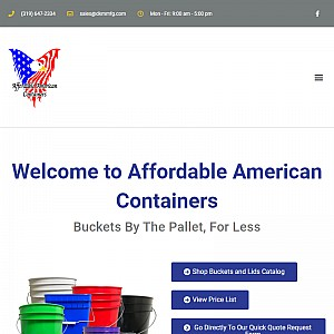 Affordable American Containers