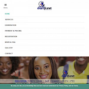 Toefl, Gre, Gmat, Sat, Ielts and Pte test registration center in Nigeria