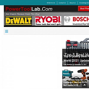 Power Tool Lab - Best Tool Guide and Expert Reviews