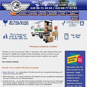 Elephant Removals Company London