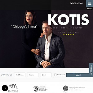 Plastic Surgery Chicago - Best Arlington Heights Plastic Surgeon - Dr. Kotis