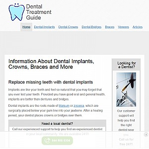 Dental Treatment Guide