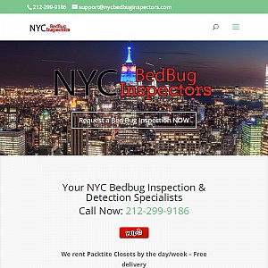 Bedbug Inspection, Detection & Elimination experts. Effective bedbug solutions, Guaranteed!