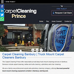 Local carpet cleaner Banbury