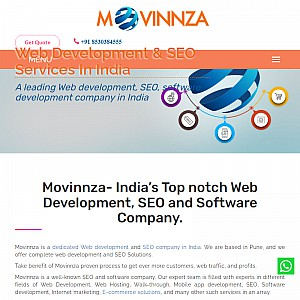Movinnza - SEO Agency in Pune