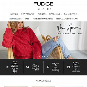 Fudge Gifts and Clothing