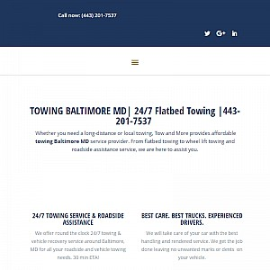 Towing Service In Baltimore
