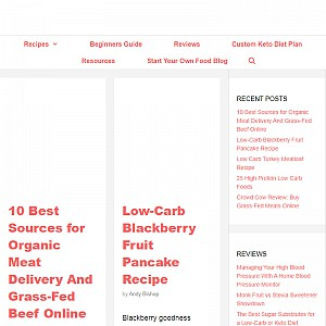Low Carb LAB - Tasty low carb diet and keto recipes, reviews and resources