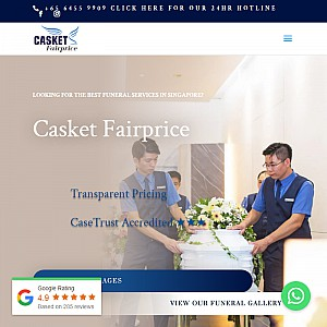 Casket Fairprice - Funeral Services Singapore
