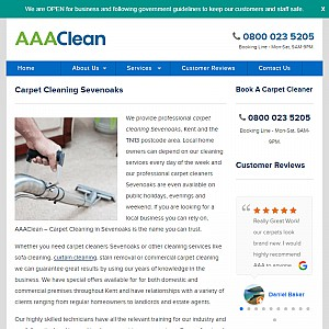 AAAClean - Professional Carpet Cleaning Services in Sevenoaks