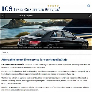 ICS Italy Chauffeur Service