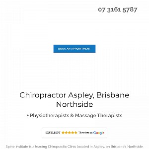 Chiropractor North Brisbane - Spine Institute
