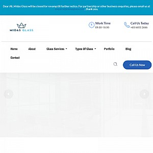 Midas Glass Contractor Singapore