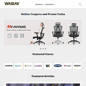 Wadav Promo Codes, Coupons and Discounts