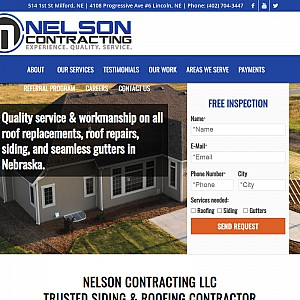 Nelson Contracting LLC - Lincoln, NE Roofing Company