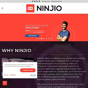 Ninjio Cyber Security Awareness Training