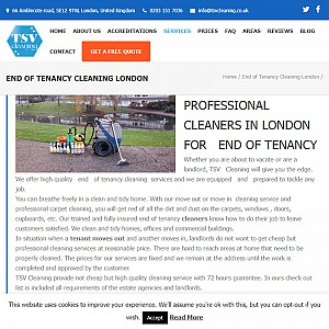 End of Tenancy Cleaning London by TSV Cleaning