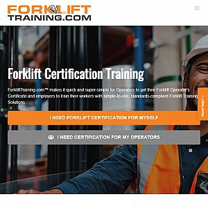 Online Forklift Certification Training